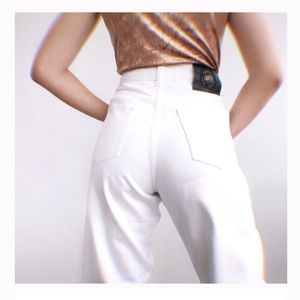 VERSACE JEANS COUTURE VINTAGE WHITE Jeans